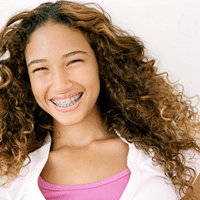 tooth extraction and braces treatment